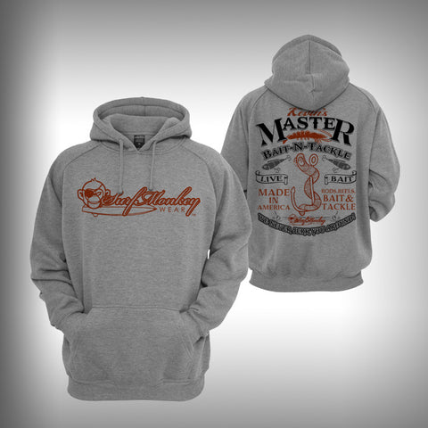 Graphic Hoodie Sweatshirt - Bait Shop - SurfmonkeyGear  - 1