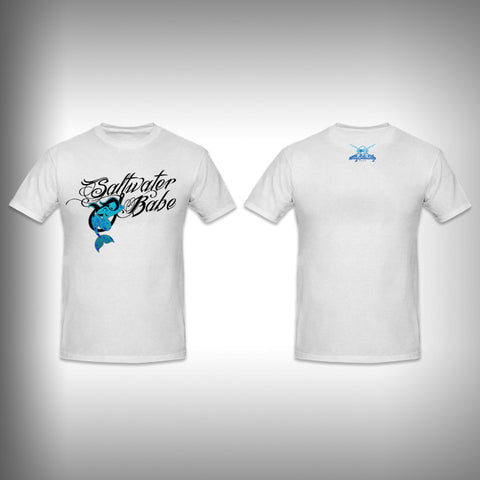 Toddler Salt Water Babe SurfMonkey - Toddler Performance Shirts - Moisture Wicking - SurfmonkeyGear