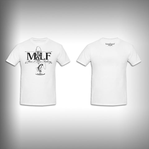 Unisex Short Sleeve Tshirt Custom Full Color Graphics - MILF - SurfmonkeyGear