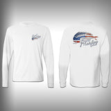 USA Bone Mahi - Performance Shirts - Fishing Shirt - SurfmonkeyGear  - 1