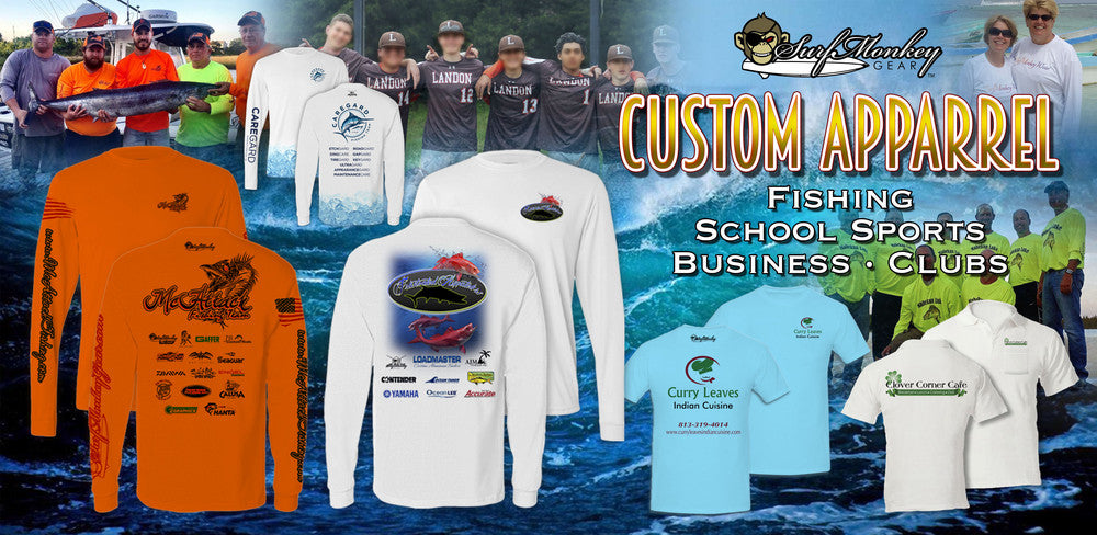 Custom Apparel for your Team, Business, or Club