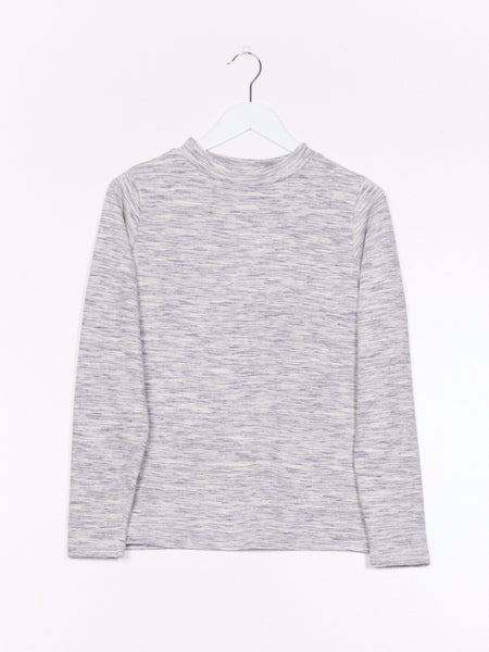 L/S tube neck sweat