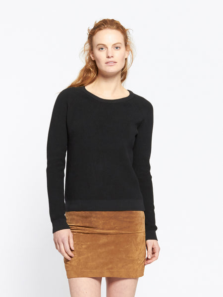 Evelyn raglan knit