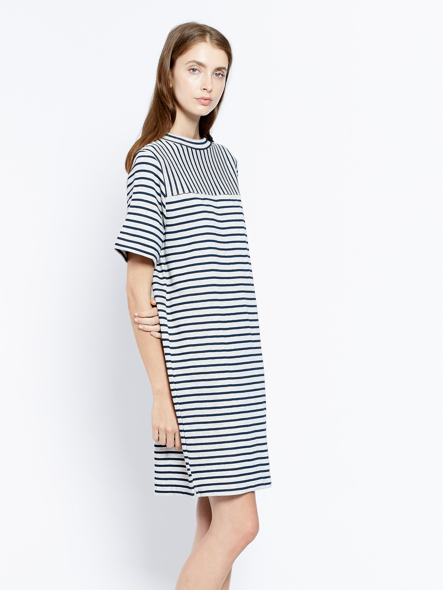 Tube neck dress