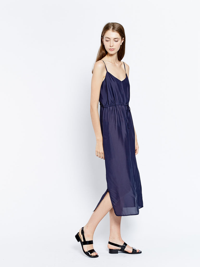Drawcord dress