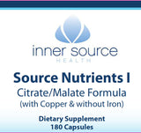 Source I Nutrients - without iron