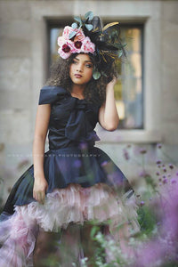 """California Dreaming"" Handcrafted Couture Floral Headpiece - Honeydrops Designs"