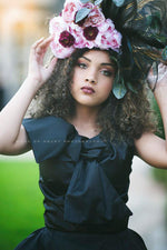 California Dreaming Handcrafted Couture Floral Headpiece - Honeydrops Designs