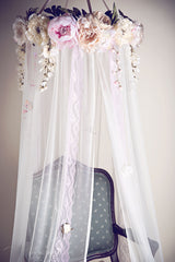 Dreamy Whimsical Floral Canopy Pre-Order - Honeydrops Designs