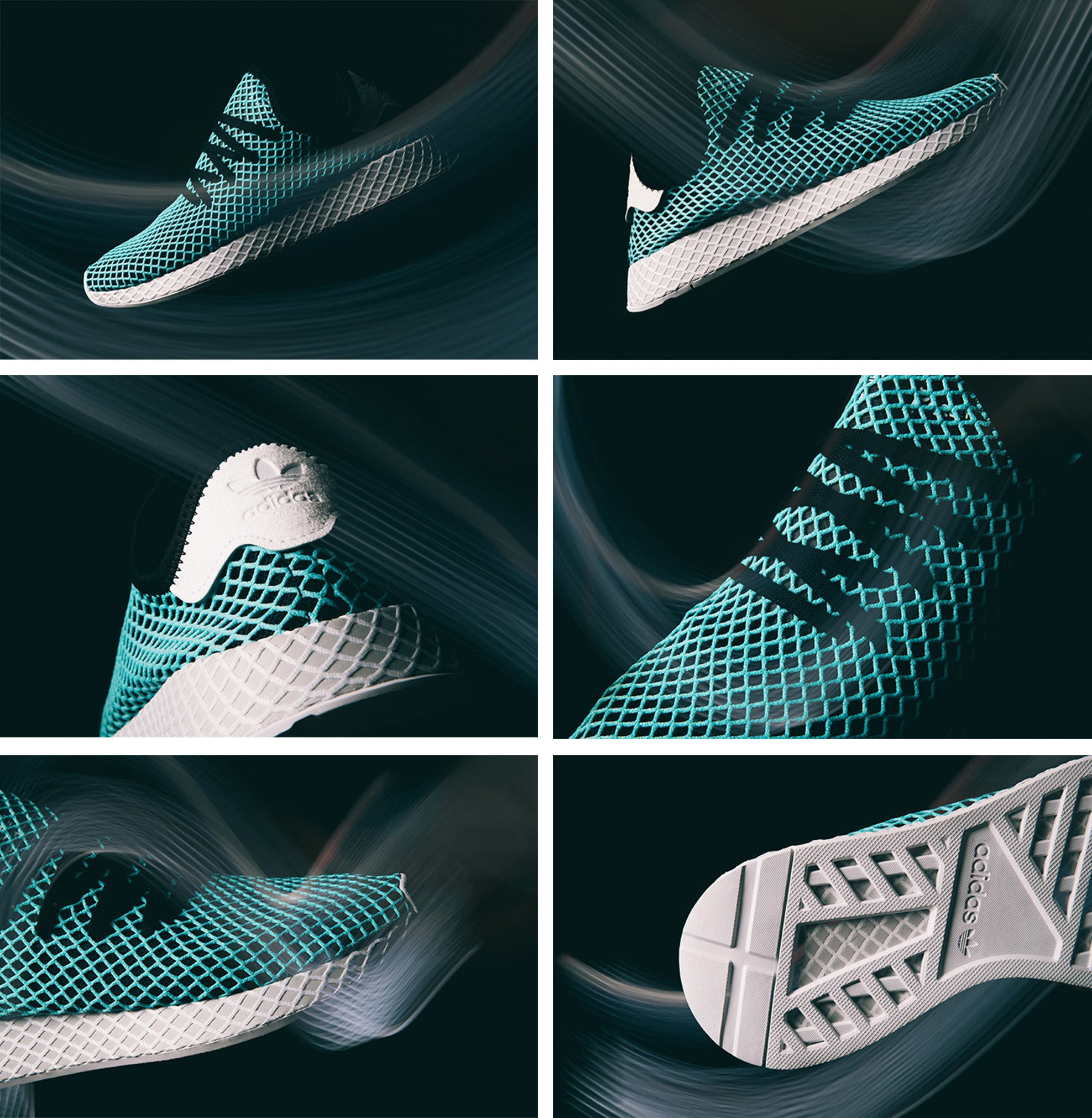 ddab8f1568468 The Parley x adidas Deerupt available now in both unique mens and womens  colourways.