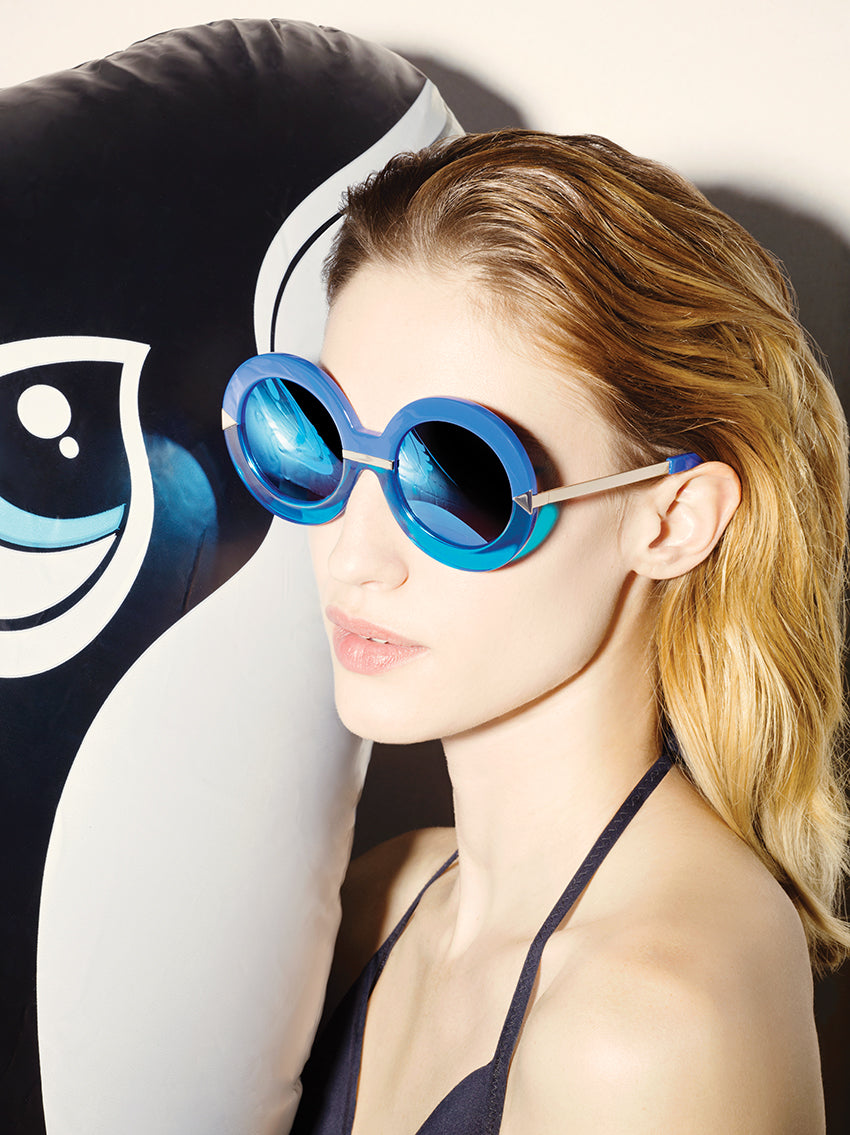 38d01c0c89 Karen Walker has brought Hollywood sass to eyewear with her latest  collection