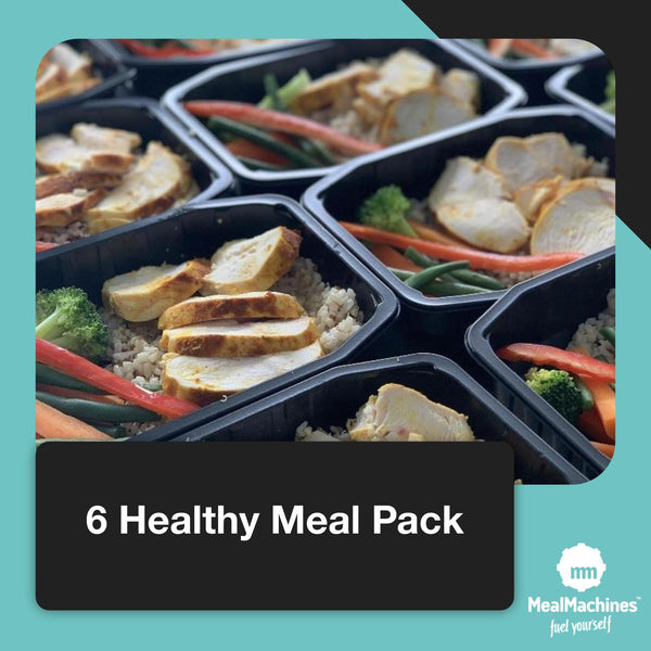 6 Meal Healthy Pack