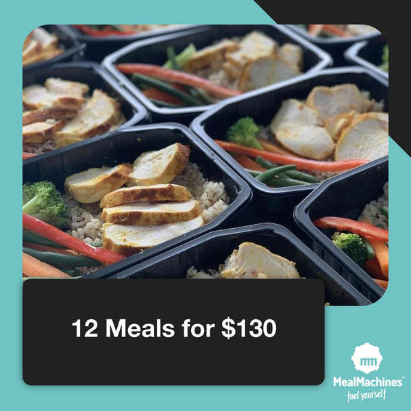 12 meals for $130