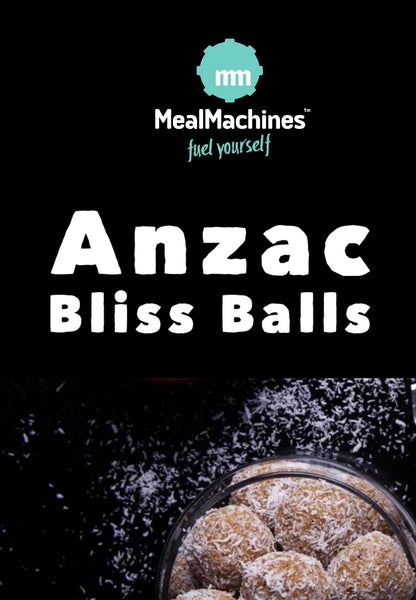3 Anzac Bliss Balls