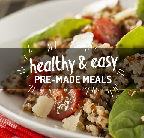 Healthy & Easy Pre-Made Meals