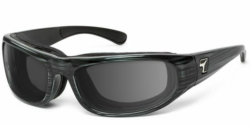 7eye by Panoptx Whirlwind Gray Tortoise with Eclypse Photochromic Lens
