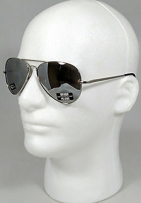 ISoCool Classic Metal Aviator Flash Mirror Spring Hinge by Envision Eyewear