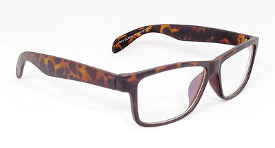 FOCUS ANTI-GLARE Video Gaming Glasses Sharpen Contrast Modern Square Matte Tortoise