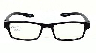 FOCUS ANTI-GLARE Reading Glasses Reduce Blue Light Neck Hanger Spring Temples