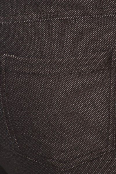 Yelete Women's Cotton-Blend 5-Pocket Skinny Jegging Black