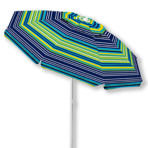 Caribbean Joe 7 Ft. Beach Umbrella with UV multiple colors