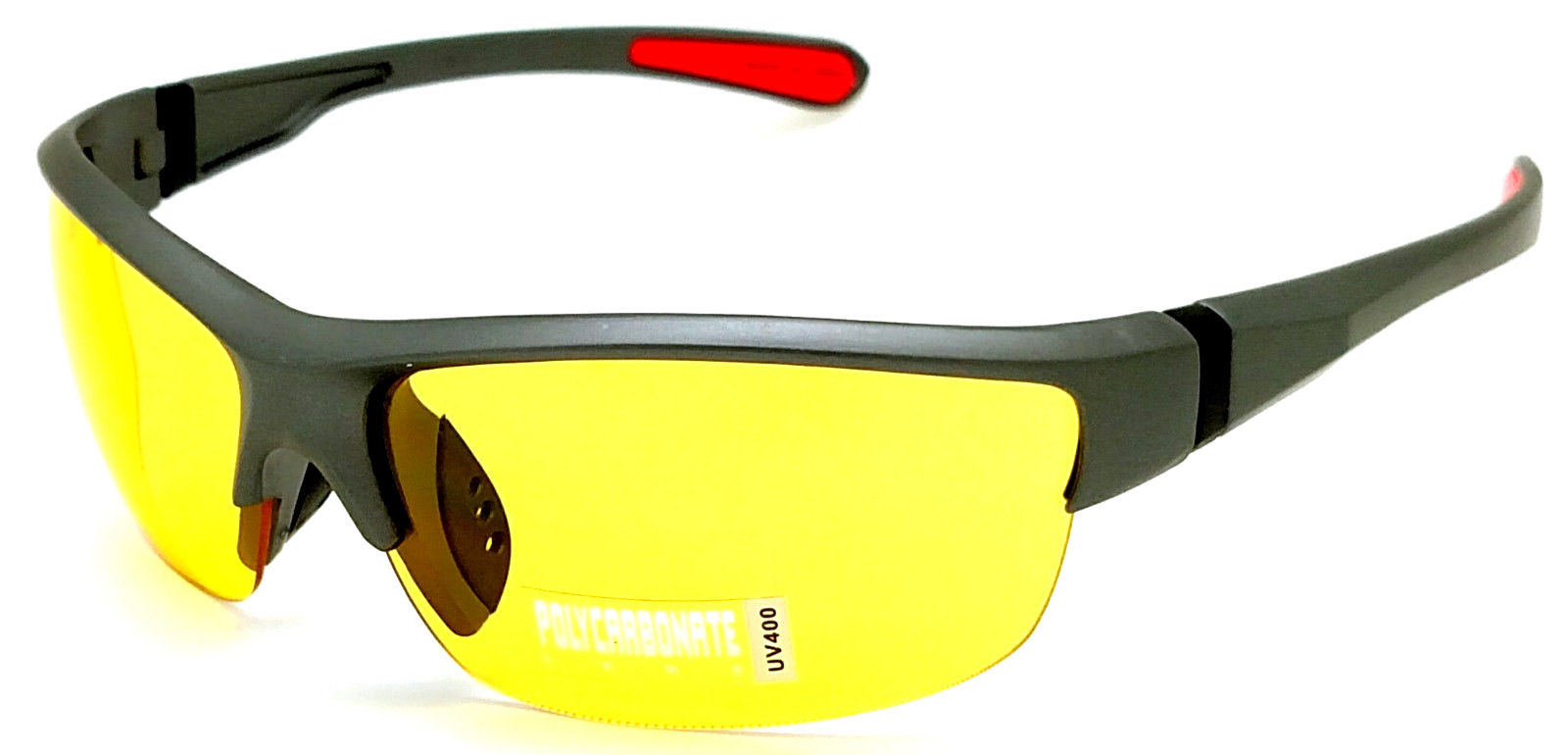 FOCUS ANTI-GLARE Night Driving Glasses Hi-Def Yellow Lens Reduces Glare Blade