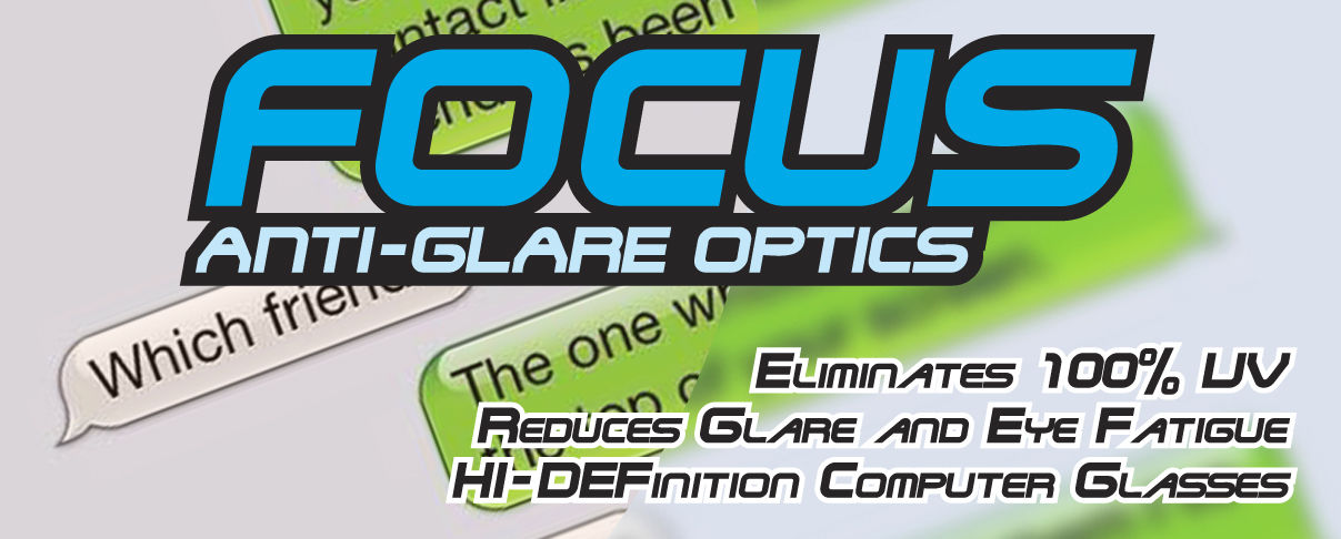 Focus Anti-Glare Night Driving Glasses Yellow Lenses Reduce Glare Semi-Rimless