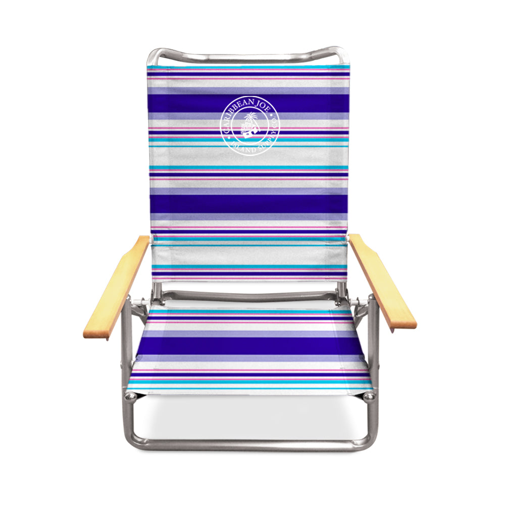 Caribbean Joe Lay Flat Beach Chair
