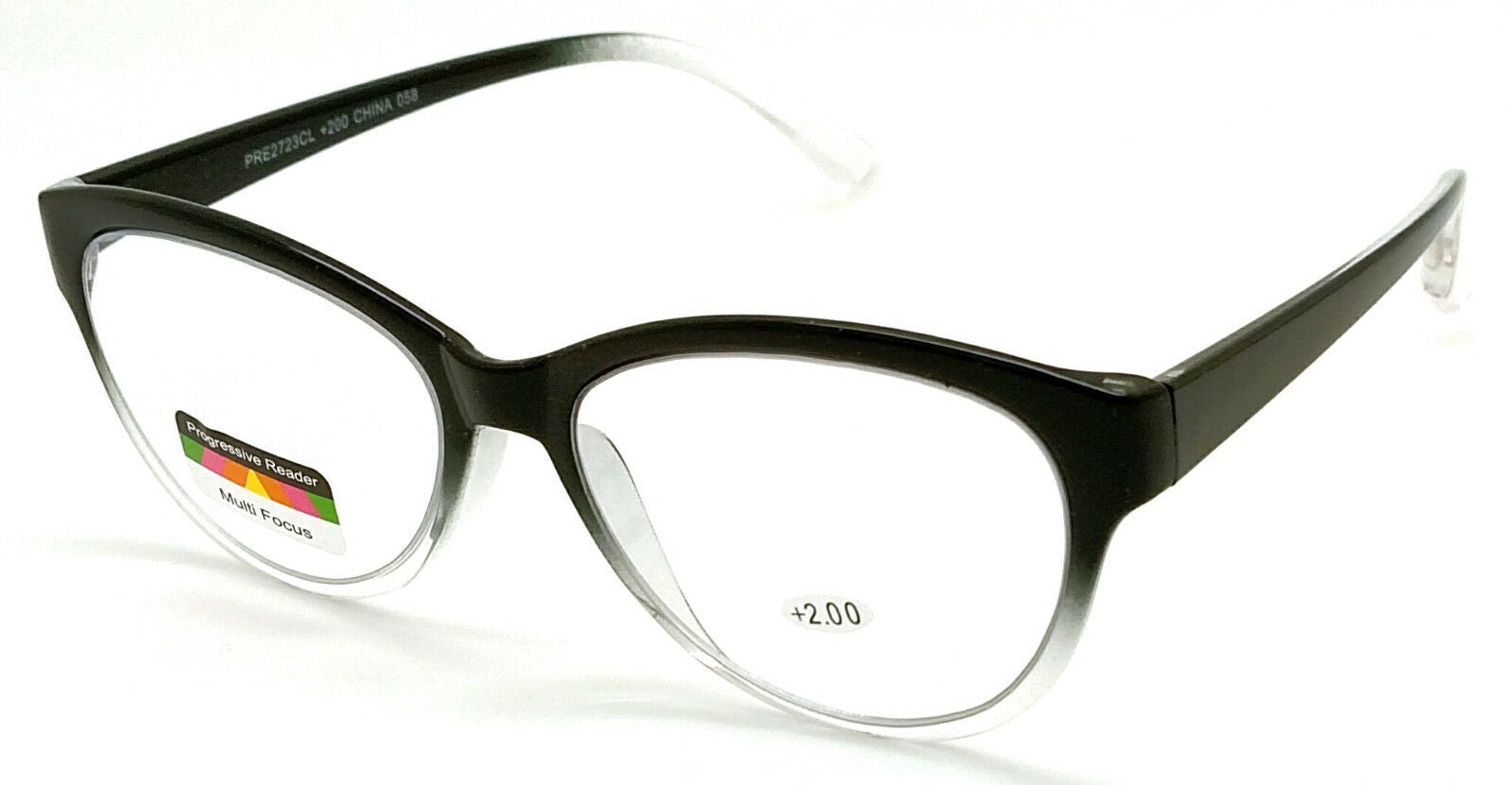 THRICE Vision Multi-Focus Progressive Reading Glass Cat Eye