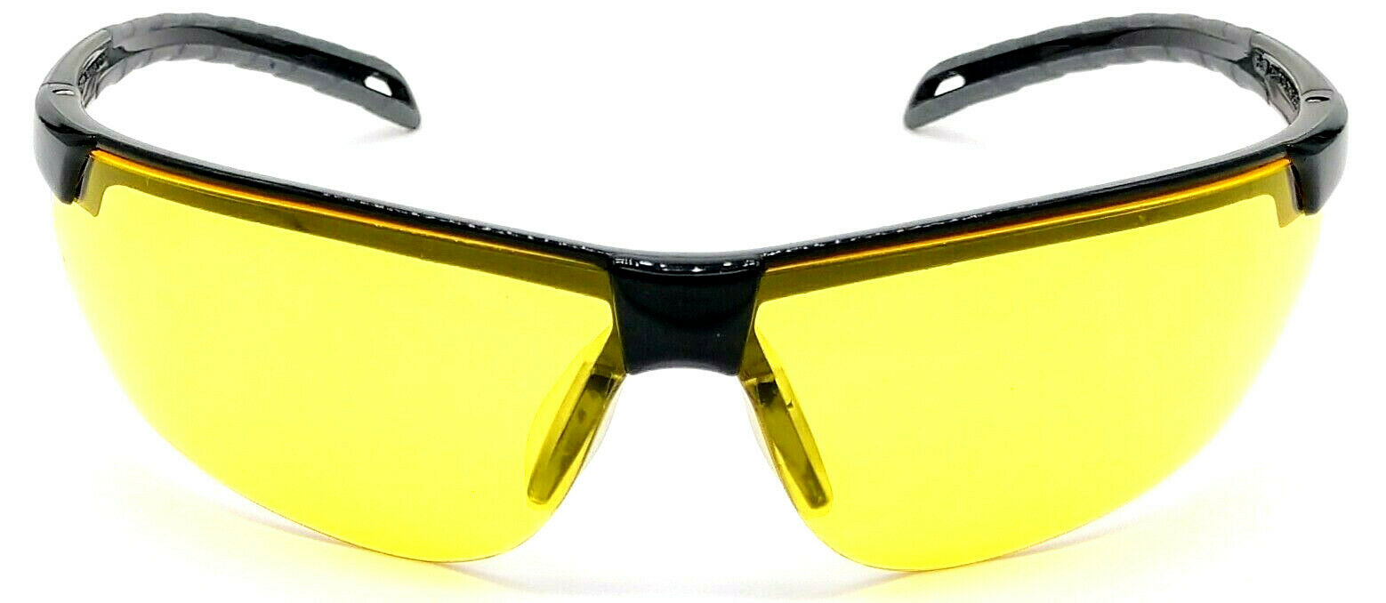 Shooter's Edge Echo Z87.1 Safety Shooting Glasses Contrast Yellow lens Black frame