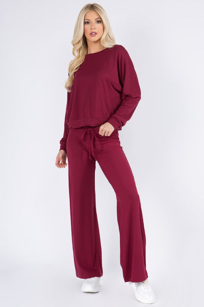NEW * Yelete Women's Long Sleeve Loungewear Set - multiple colors