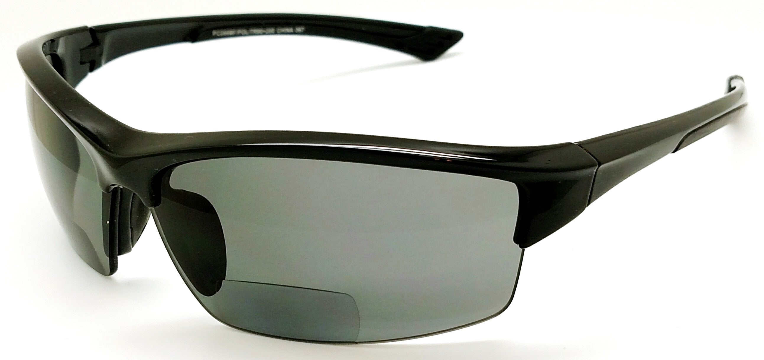 Platinum Edge Shasta II Polarized PC Bifocal Sun Readers blade shield unisex