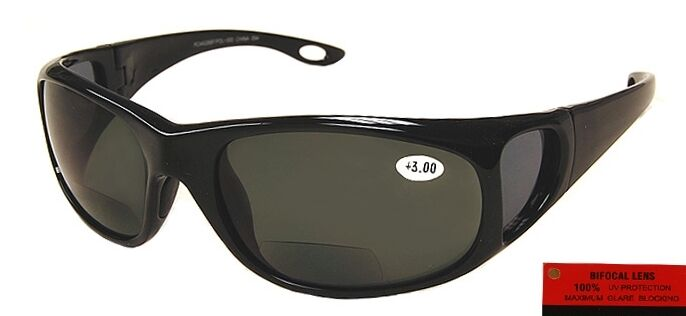 Platinum Edge Shasta Polarized PC Bifocal Sun Readers sideview fishing unisex