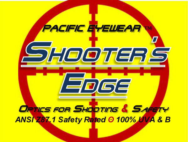 Shooter's Edge OTG Over-the-Glasse Z87.1 Safety Shooting Glasses Contrast Yellow