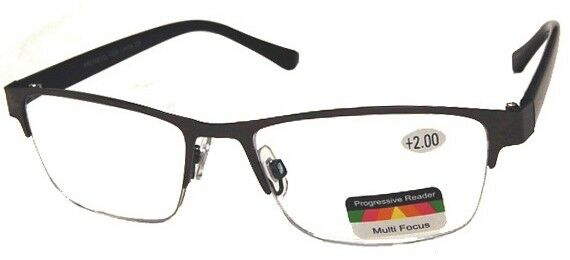 THRICE Vision Multi-Focus Progressive Reading Glass Teacup Metal & Nylon combo