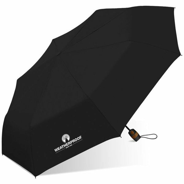 "WeatherProof 42"" Auto Open Super Mini Umbrella Solid colors"