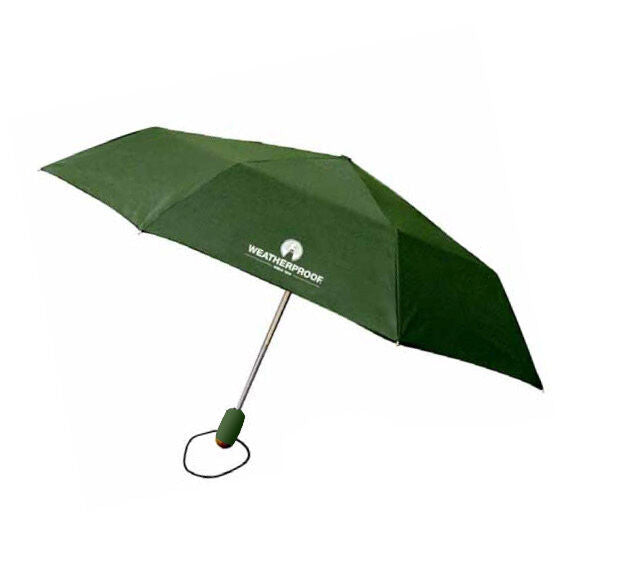 "WeatherProof 42"" Auto Open Auto Close Super Mini Solids Men's Umbrella"