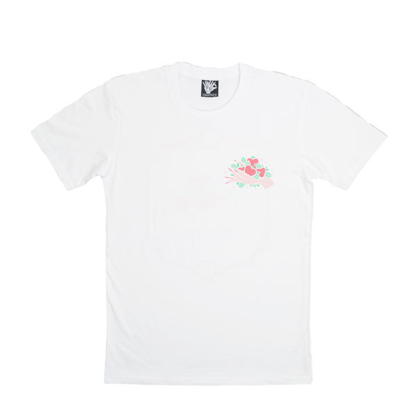 Strawberry Cough T-Shirt - WHITE