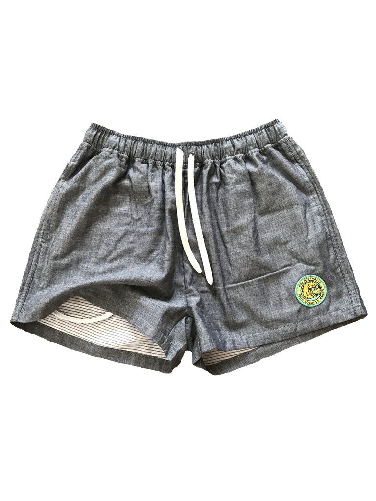 Locally Baked Madison Shorts - STEEL
