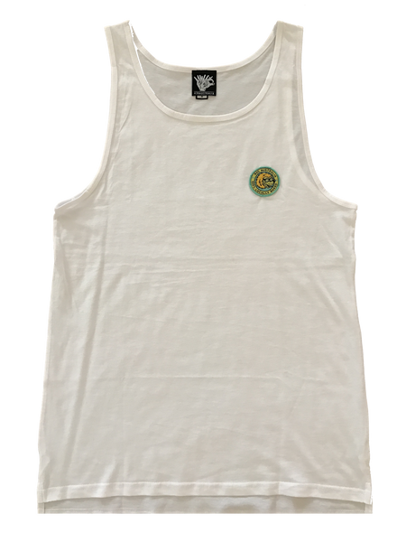 Locally Baked Singlet - WHITE