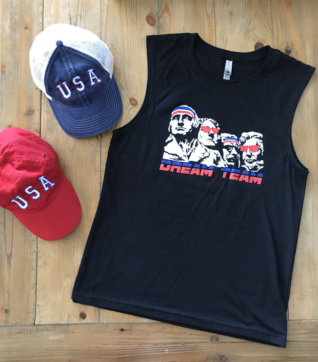 USA Dream Team Unisex Muscle Tee