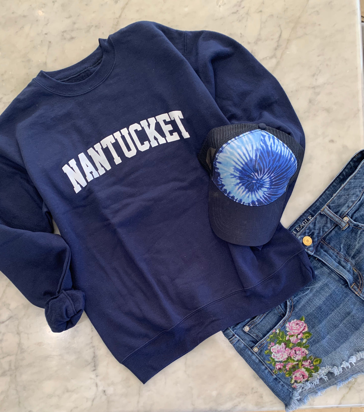 Nantucket Sweatshirt , Cape Cod Prep Collegiate Style Pullover, Destination Shirt