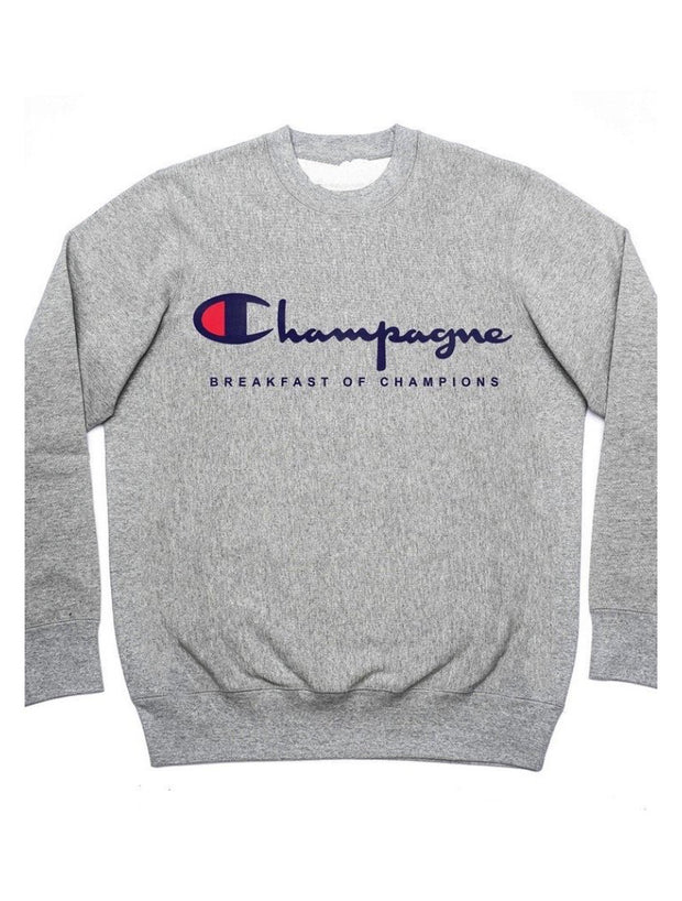 Champagne the Breakfast of Champions Sweatshirt