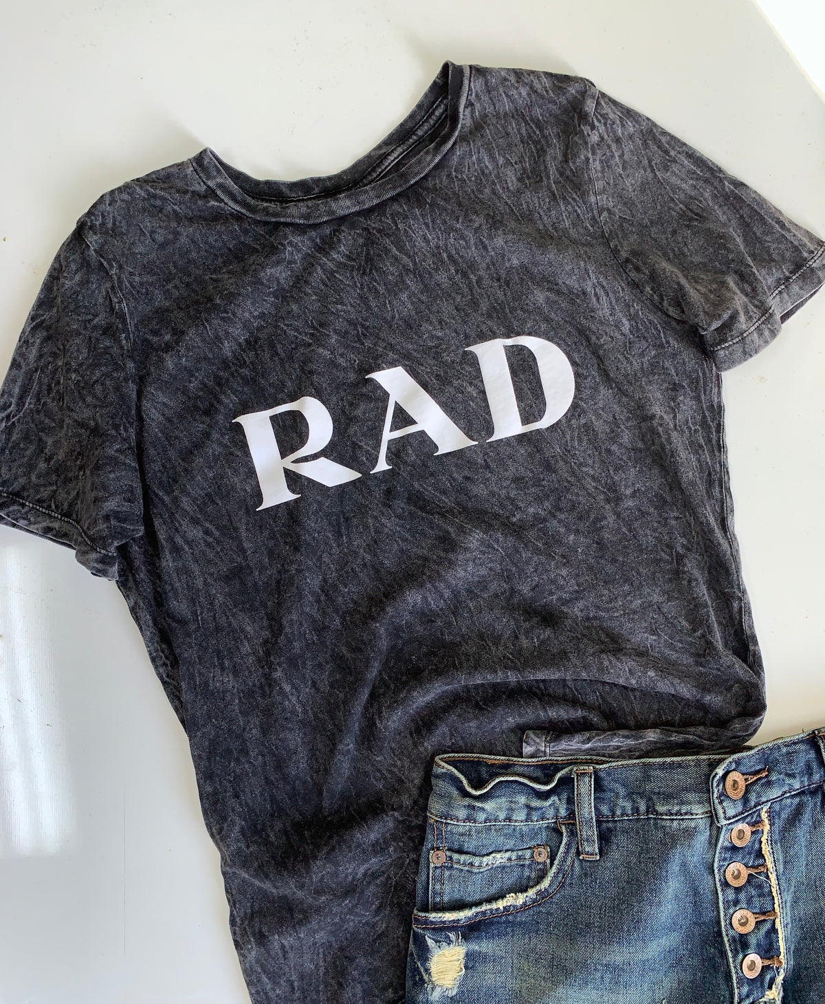 Rad Fashion Shirt in Mineral Wash