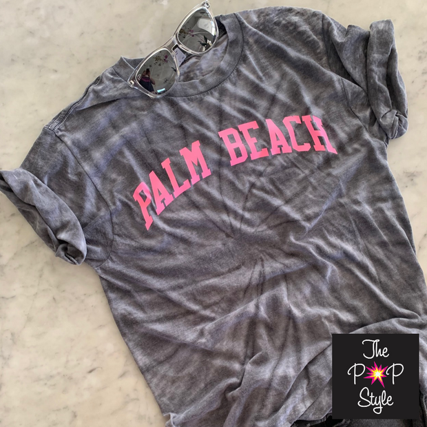 Palm Beach Tie Dye Shirt