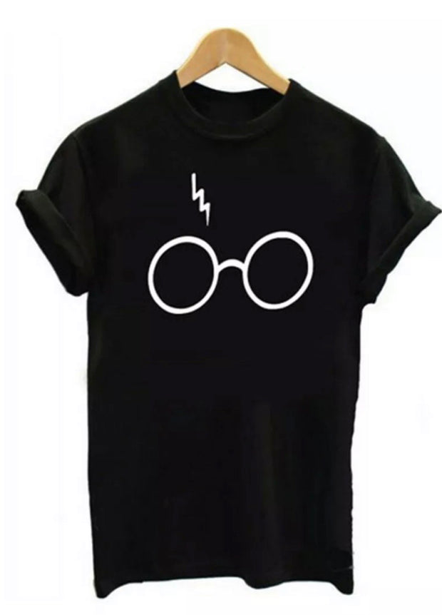 Harry Potter Wizard Fan Shirt scar Glasses