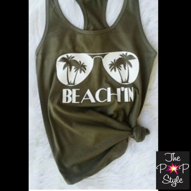 Beach In Tank Top
