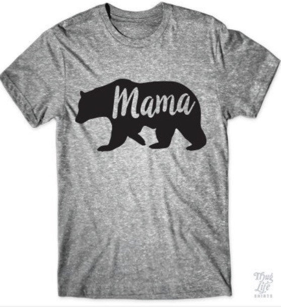 Mama Bear Mother Super Soft T Shirt