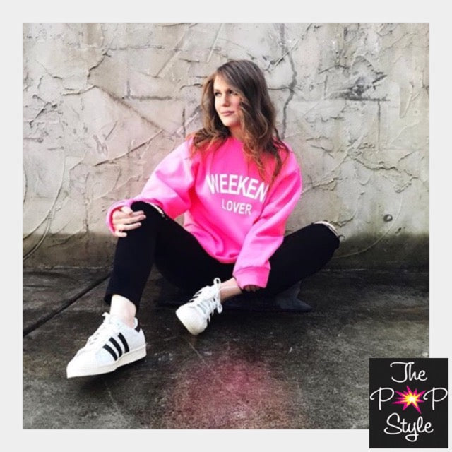 Weekend Lover Neon Sweatshirt