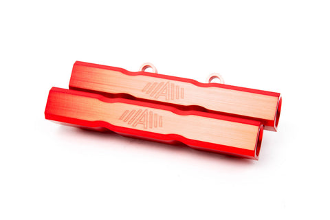 Aluminati Fuel Rails RED